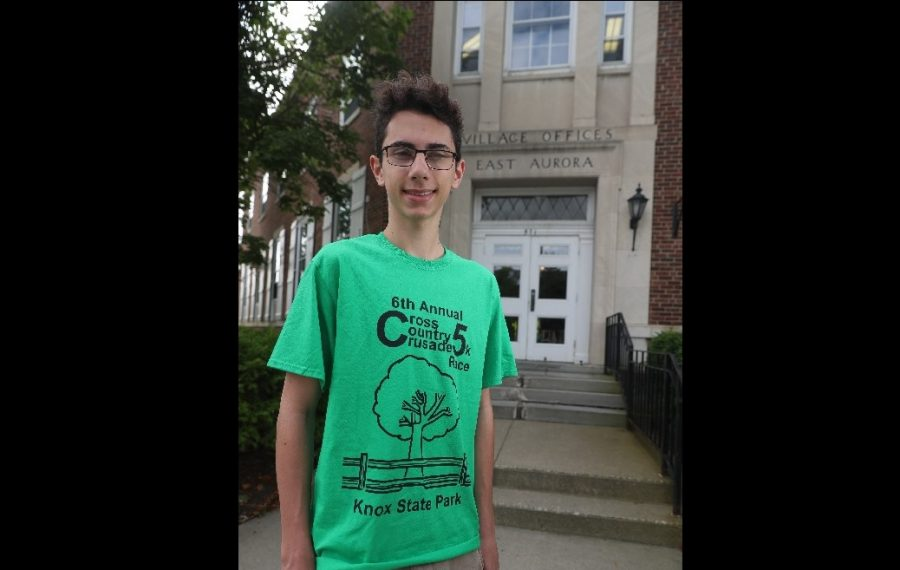 A Boy Scout had a big idea about helping the environment. East Aurora will consider it