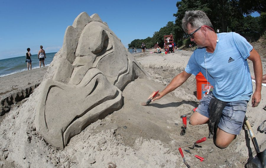 From the sand, sculptures create a sense of wonder in Dunkirk