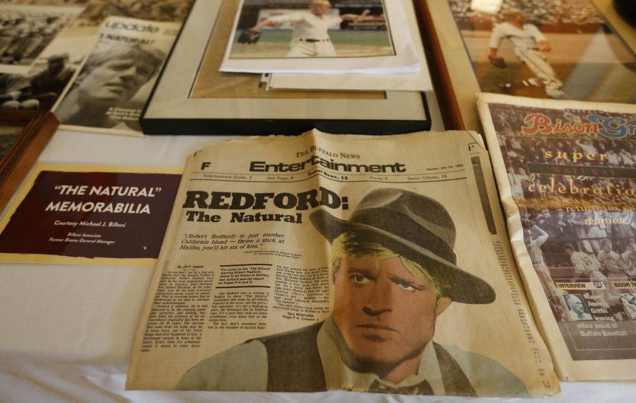 """Jeff Simon writes of """"The Natural"""": """"A community of film and baseball fans treated the film as if it belonged to everyone."""" (Sharon Cantillon/News file photo)"""