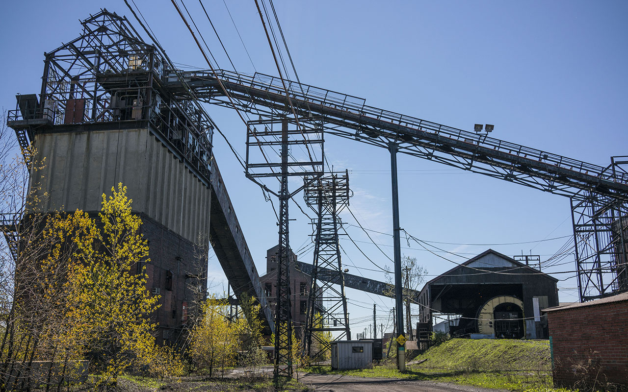 Coal won't have a turnaround in the U S , but the story is