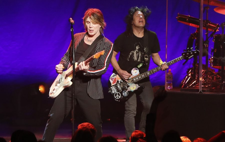 Johnny Rzeznik, left, and Robby Takac have scheduled their first Buffalo show of 2019. (Mark Mulville/News file photo)