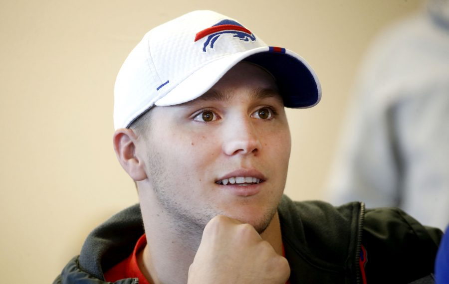 Bills quarterback Josh Allen. (Robert Kirkham/News file photo)