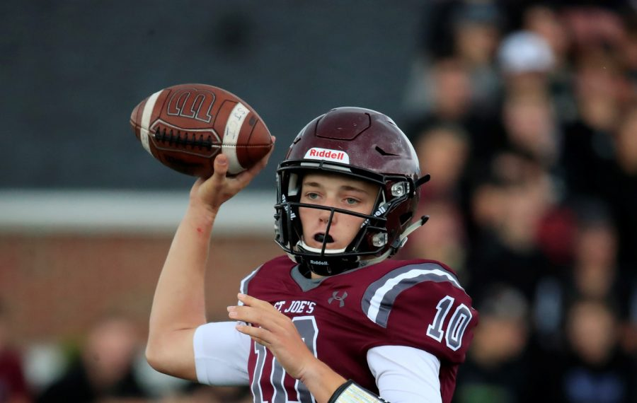 Callum Wither and St. Joe's will try and beat Canisius for the first time since 2011. (Harry Scull Jr./Buffalo News)