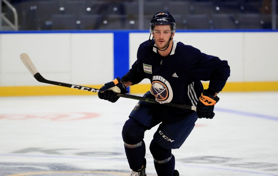 What happened in Vegas is staying with Colin Miller as he joins Sabres' defense corps