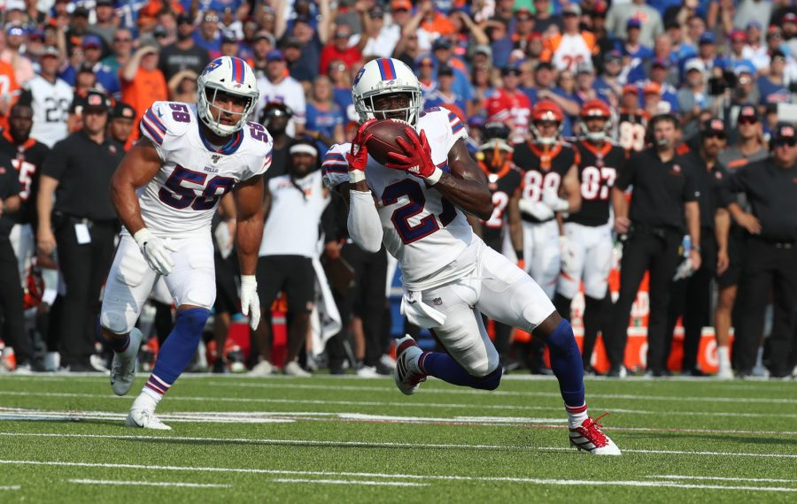 buy popular a87d8 32275 Bills' Tre'Davious White: Game-sealing interception 'just ...