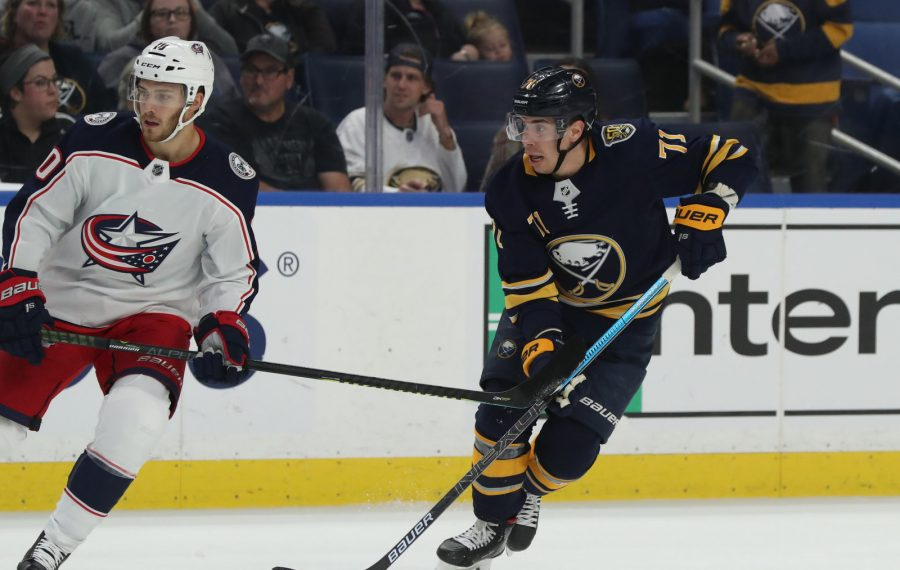 Sabres forward Evan Rodrigues has requested a trade