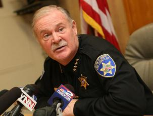 Sheriff Timothy B. Howard and the deputies union are raising false issues in challenging the prosecution of Deputy Kenneth Achtyl, who was convicted of assault and two other crimes on Friday. (Sharon Cantillon/News file photo)