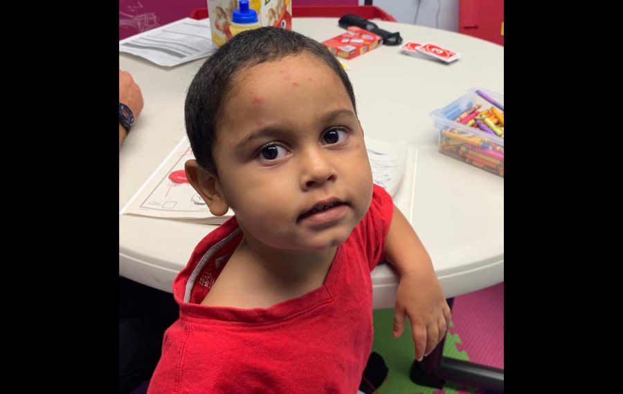 Police seek parents of toddler found sleeping on Potomac Avenue porch