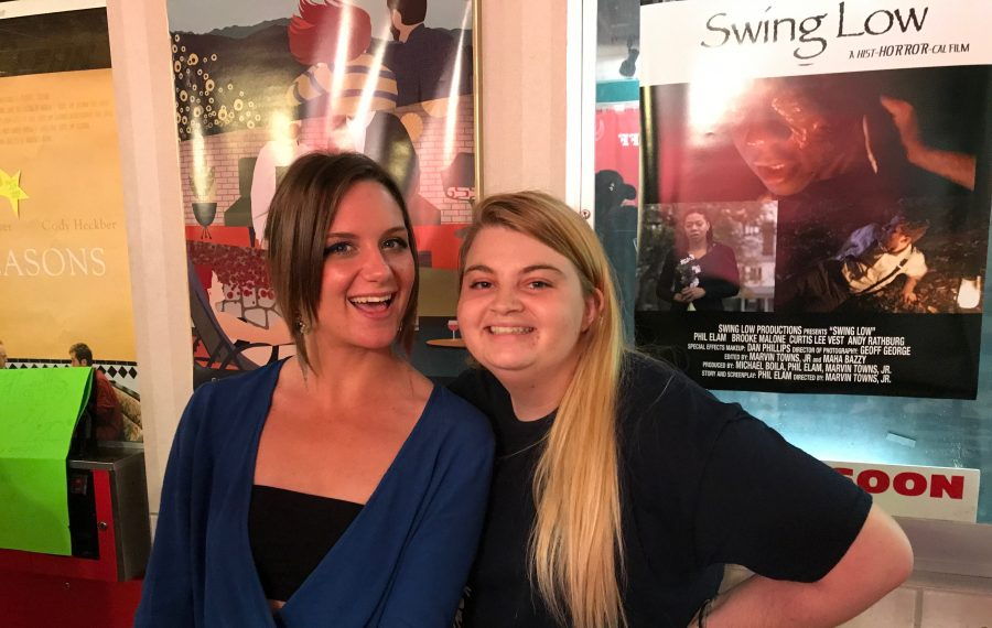 Alyssa Cowell, left, with her best friend Brianna Ramadan. Alyssa's father, Bill Cowell, has announced the creation of Alyssa Justine Cowell Youth Foundation in conjunction with the Buffalo Niagara International Film Festival. (Photo courtesy of Bill Cowell)