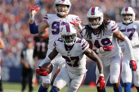 The Buffalo Bills, now 3-0, defeated the Cincinnati Bengals in their home opener at New Era Field on Sunday, Sept. 22, 2019.