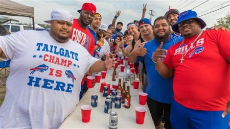 Finally! The first tailgate of the 2019 season arrived on Sunday, Sept. 22, 2019, at New Era Field, where the Buffalo Bills hosted the Cincinnati Bengals. See the fans who pre-gamed before the anticipated tilt.