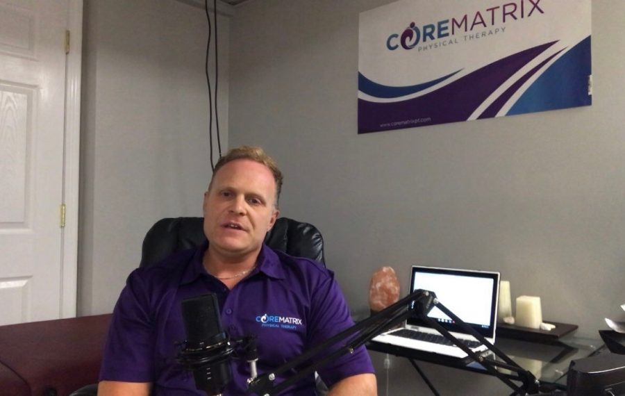 Brian Piekarski, owner of Core Matrix Physical Therapy, is trying his hand at providing free telehealth services through November to see if it will complement his mobile physical therapy business. (Photo provided by Brian Piekarski)