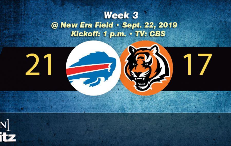 Twitter reacts: Bills win 21-17 against Bengals