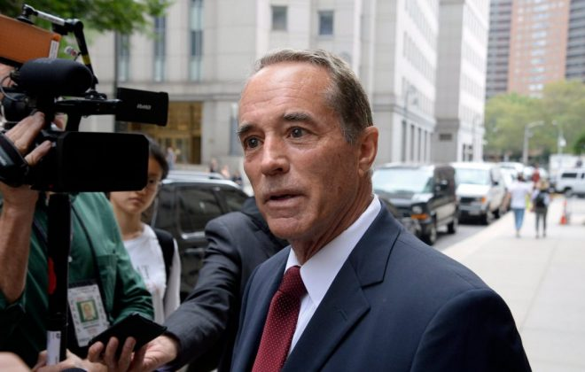 Republican county chairmen in the 27th Congressional District will hit the pause button until after the Nov. 5 elections when it comes to efforts to find a replacement for Chris Collins (Jefferson Siegel/Special to The News)