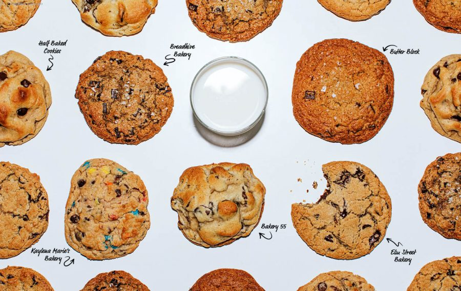 Local bakeries are whipping up a delectable assortment of chocolate chip cookies for everyone. (Katie Addo/styled by Nikki Wolfee)
