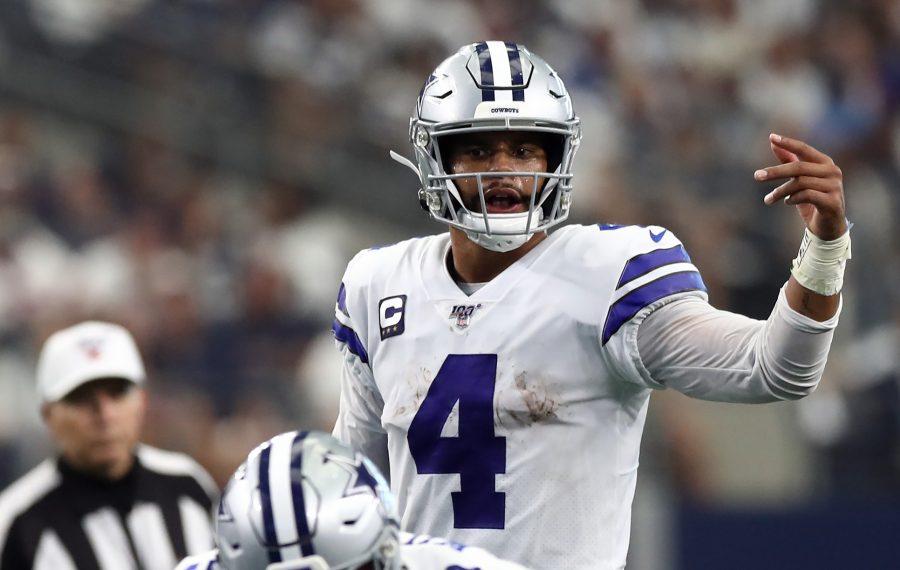 Dak Prescott of the Dallas Cowboys. (Getty Images)