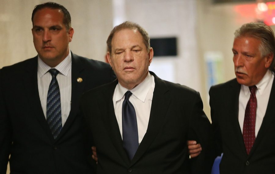 Harvey Weinstein's trial is scheduled to begin in January. (Photo by Spencer Platt/Getty Images)