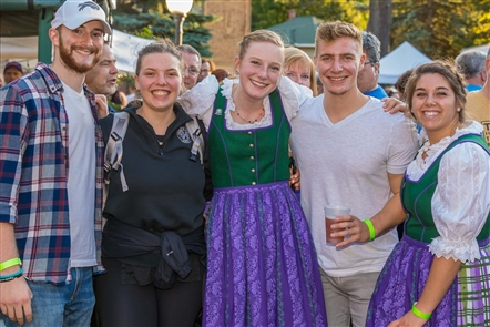 The Frankfurters and the Auslanders led the musical charge at Hamburg Oktoberfest on Saturday, Sept. 14, 2019, in Memorial Park. Schnitzel and Co. and Hamburg Brewing were prominent local vendors on a day filled with activity.