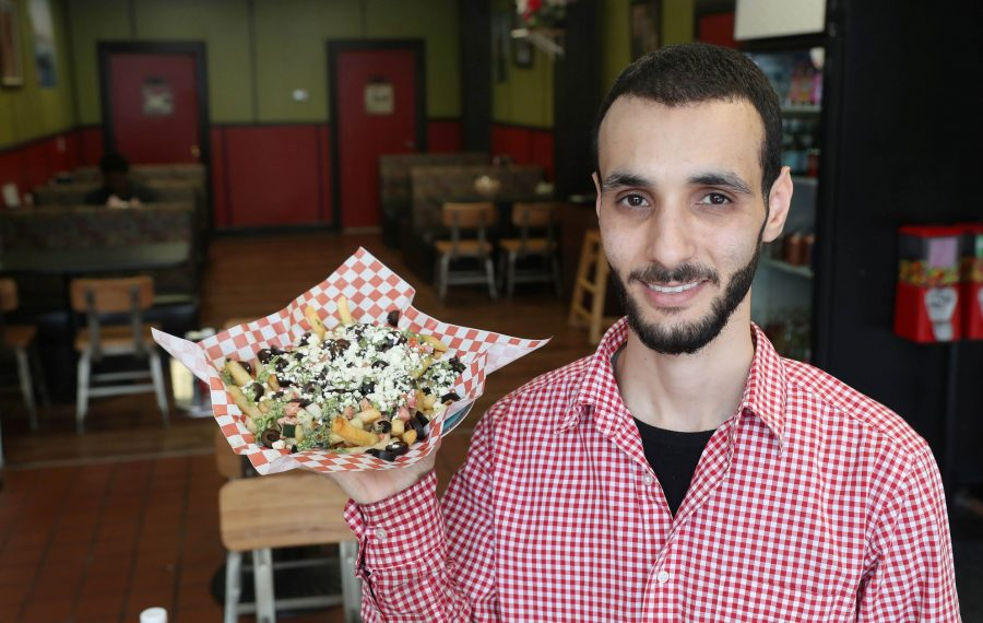 House of Hummus owner Ahmed Hamideh announced the closure of his Hertel location. (Sharon Cantillon/News file photo)
