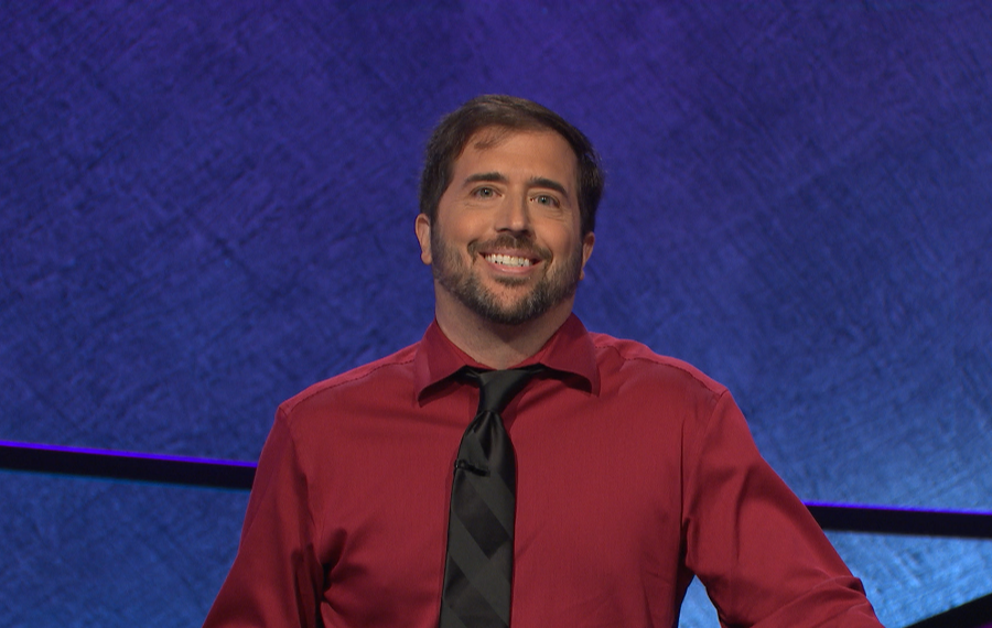 "It took Jason Zuffranieri nine times to qualify as a contestant on ""Jeopardy!"" (Courtesy of Jeopardy Productions Inc.)"