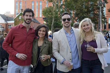 The longest dinner table in Buffalo was set up on Ellicott Street on Saturday, Sept. 14, 2019, for Supper in the Street, a benefit party and dinner for Kevin Guest House. See who got a seat at the table of epic dimensions.