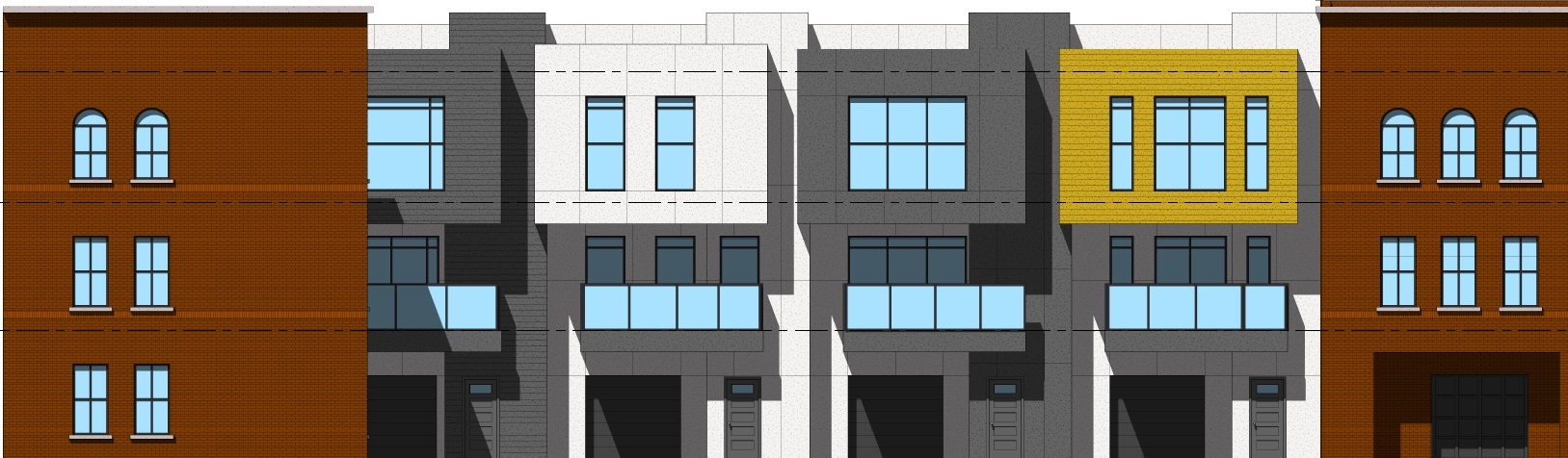 Legacy plans St. Louis Place townhomes; Jemal adds screen walls to Seneca Tower