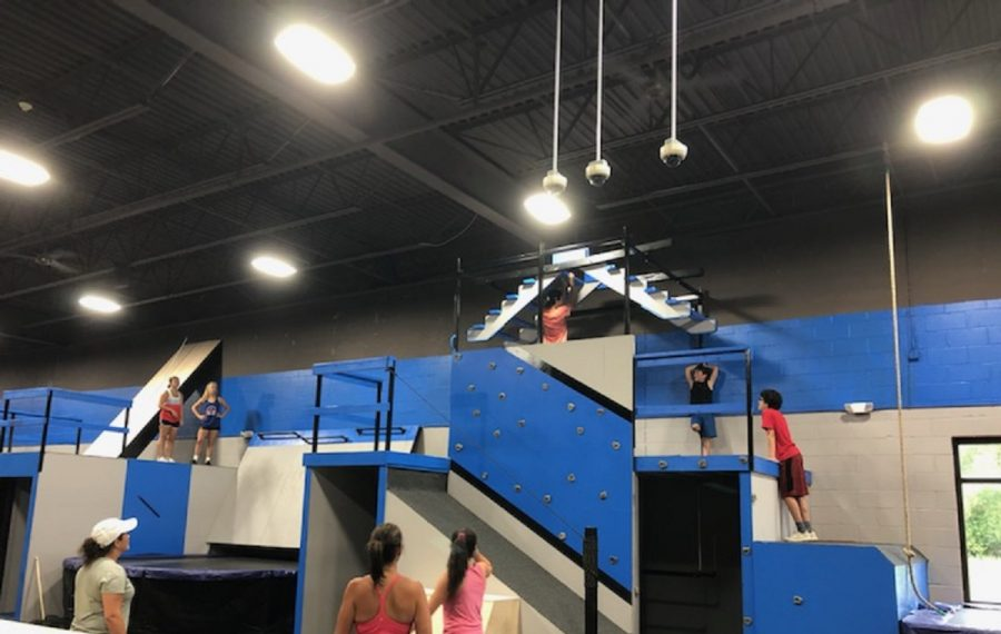 """Classes help keep order at the new Superhero Training Center, 1590 Hopkins Road, Suite 100, near Dodge Road in Amherst. """"There's no free-for-all,"""" says co-owner Sean Haney. (Photo provided by Sean Haney)"""