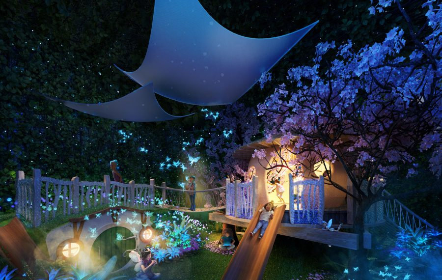 An immersive and accessible play area is coming to the Explore & More.