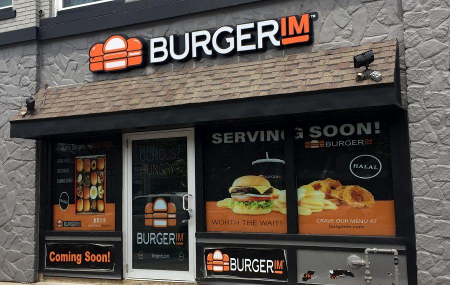 Burgerim has set its opening for Sept. 17 (Andrew Galarneau/Buffalo News)