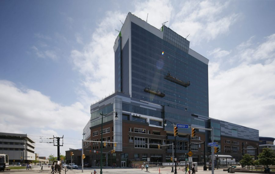 Harborcenter, shown in 2015, has a new naming rights agreement. (News file photo)