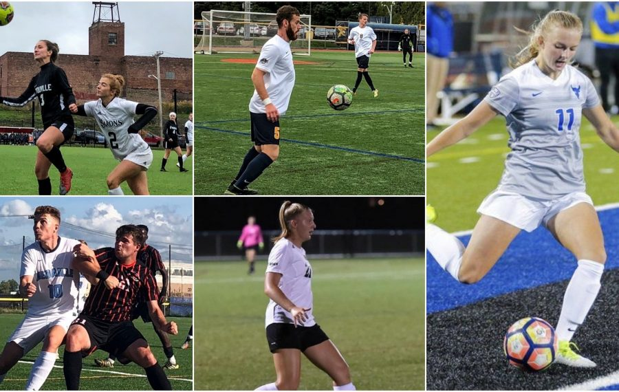 Buffalo college soccer is upon us. Here is a composite schedule for fall 2019. (all photos via Ben Tsujimoto except Barberic and Mason, from their respective schools)