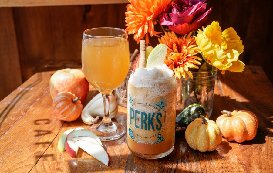 Perks packs seasonal flavors into a slew of beverages, hot and iced. (Dave Jarosz)