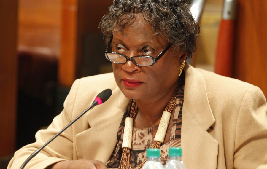 As tensions emerge on the Buffalo School Board, board President Sharon Belton-Cottman said she sees nothing wrong with how she conducts herself and has contended the board should not be a rubber stamp. (John Hickey/News file photo)