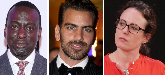 """The UB Distinguished Speaker series will include, from left, criminal justice advocate and Central Park Five member Yusef Salaam; """"Dancing With the Stars"""" winner and deaf activist Nyle DiMarco, and Pulitzer Prize-winning New York Times journalist Maggie Haberman. (Getty Images)"""