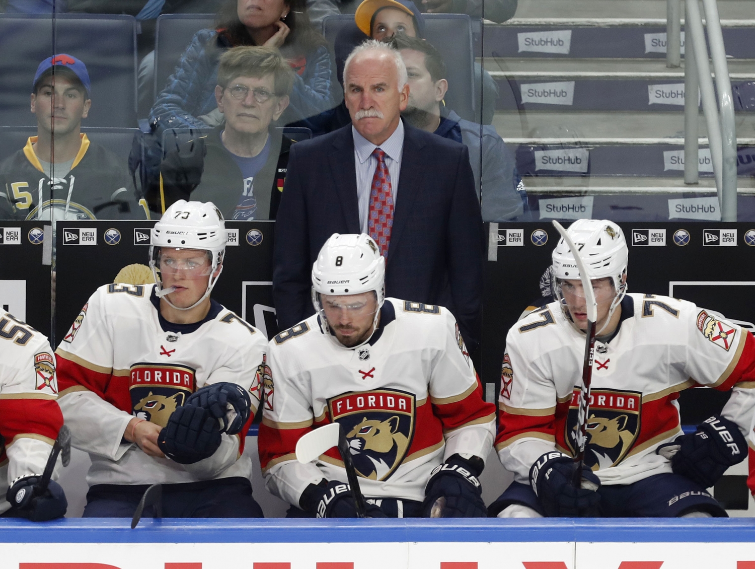 Joel Quenneville 'means business' and it's a new approach for the Florida Panthers