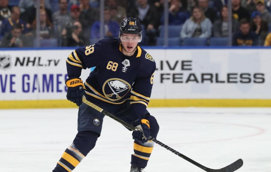 Sabres game day: Victor Olofsson, Rasmus Asplund reunite on line