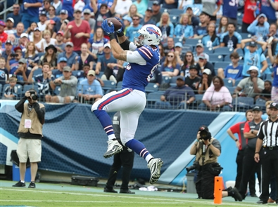 The Buffalo Bills beat the Tennessee Titans, 14-7, on Sunday, Oct. 6, 2019, at Nissan Stadium in Nashville.