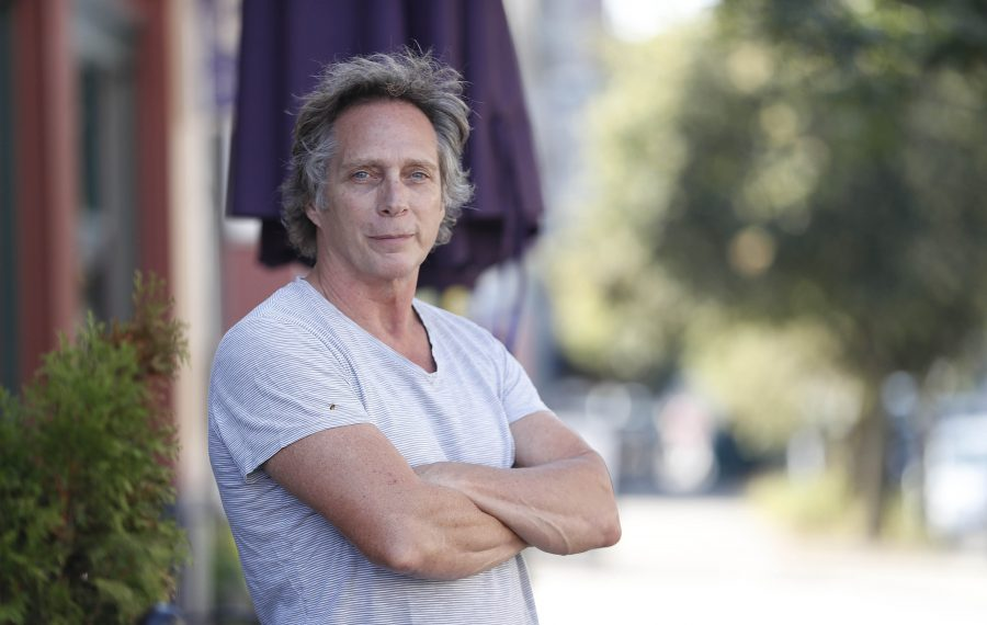 """Actor William Fichtner returned home to share the news that his locally made film """"Cold Brook"""" will have its area premiere on Nov. 8. (Sharon Cantillon/Buffalo News)"""