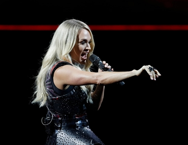 Carrie Underwood performs at KeyBank Center for the Cry Pretty Tour 360 on Sunday, Oct. 13, 2019.