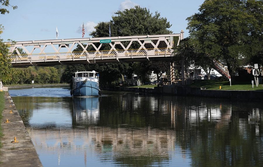 A proposal to interrupt the path of the Erie Canal will need serious review if that otherwise unwanted action is crucial to protecting the Great Lakes from invasive species. (Sharon Cantillon/Buffalo News)
