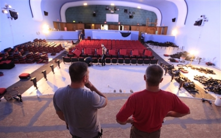 The Joylan Theatre in Springville turns 70 with a fresh new look. Watermark Wesleyan Church recently renovated the theater.