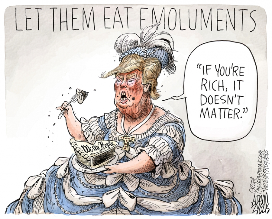 Emoluments clause: October 22, 2019