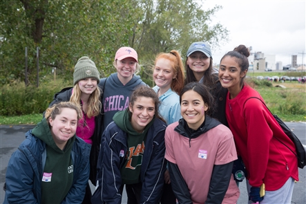 The Buffalo chapter of the American Cancer Society presented its annual Making Strides Against Breast Cancer run/walk on Saturday, Oct. 12, 2019, at the Lakeside Bike Park at the Outer Harbor.