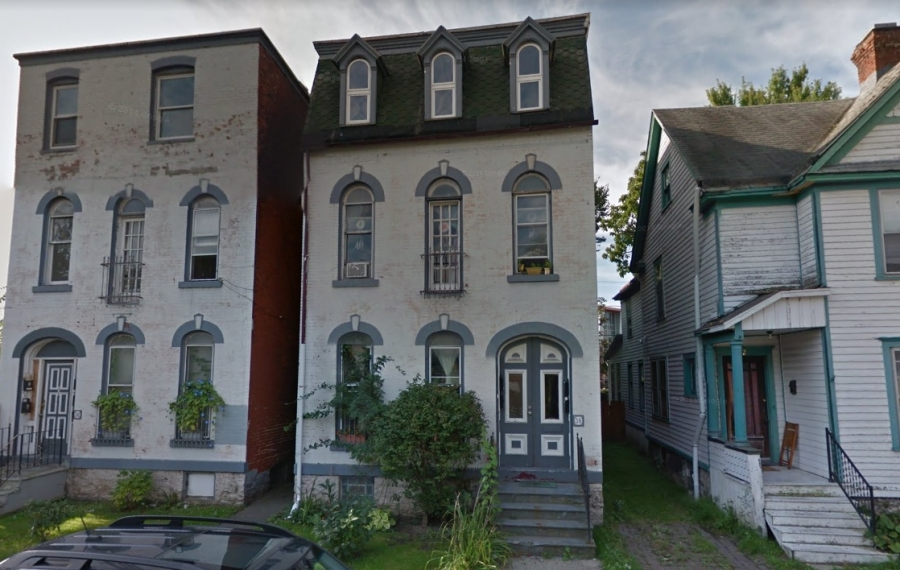 Nick Sinatra sold these two apartment buildings. (Google)