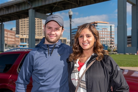 Canalside's fall festival - renamed Autumn Happens Here - ran Saturday, Oct. 19, 2019, with food trucks, kettle corn, kids activities, Oktoberfest flights, corn hole and more to entertain families along the water.