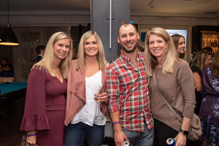 Sparkling new 500 Pearl and its W XYZ Bar played host to Eric Wood's Flights and Bites, which raises money for Oishei Children's Hospital, on Monday, Oct. 21, 2019. See the fans of the former Buffalo Bills center who is popular in the community and respected for his philanthropy.