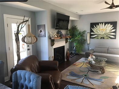 Barbara Buchnowski recently shared photos of her year-round home in Sunset Bay. You can also read her description of the place under the