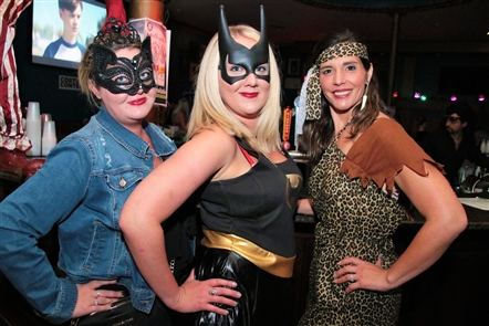 103.3 The Edge's morning show hosts, Shredd & Ragan, threw their annual Halloween bash on Saturday, Oct. 19, 2019, in the Town Ballroom. Nerds Gone Wild was among the bands performing, while the attendee with the best costume won $2,000.