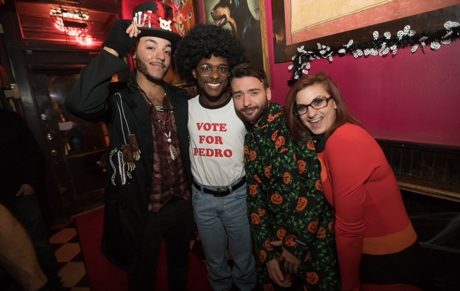 Halloween costumes from the 2018 Monster Ball in Duke's Bohemian. (Chuck Alaimo/Special to The News)