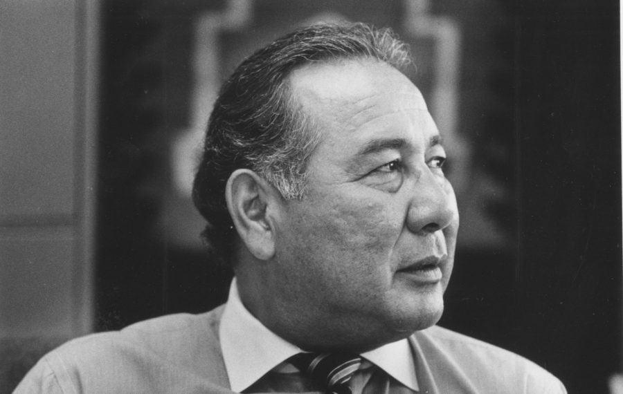 Lloyd M. Elm, 84, founder and principal of Native American Magnet School 19